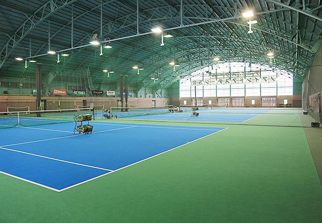 ノアジュニアテニスアカデミー西宮校インドアカーペットコート